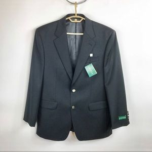 New Ralph Lauren Black Wool Blazer